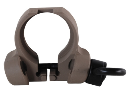 Troy Industries Professional Grade Rear Sling Mount Adapter 2 Position Ambidextrous with Quick Detach Sling Swivel AR-15 Carbine Aluminum Flat Dark Earth