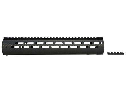 AP Customs Tactical Free Float Tube Handguard AR-15 Carbon Fiber Black