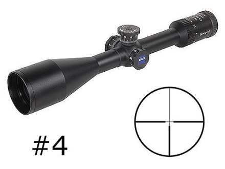 Zeiss MC Conquest Rifle Scope 4.5-14x 50mm Side Focus Target Turrets #4 Reticle Matte