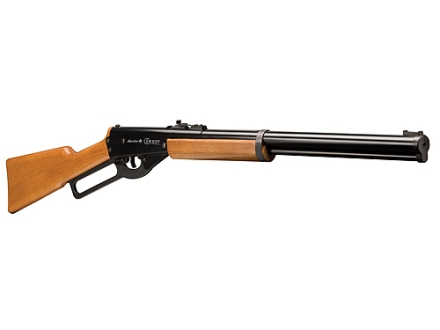 Marlin Cowboy Lever Action Single Shot BB Air Rifle 177 Caliber Wood Stock Matte Barrel
