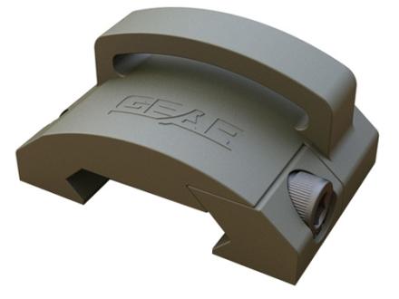 """Gear Sector Rail Mount Sling Adapter Fixed 1"""" Loop AR-15 Aluminum"""