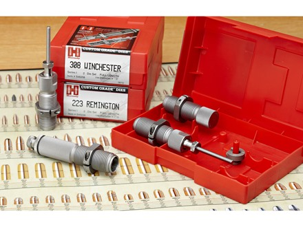Hornady Custom Grade New Dimension 2-Die Set 22-250 Remington