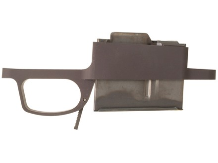 Badger Ordnance M5 Trigger Guard and Detachable Magazine Assembly Remington 700 with Hinged Floorplate Short Action 308 Winchester 5-Round Aluminum Matte