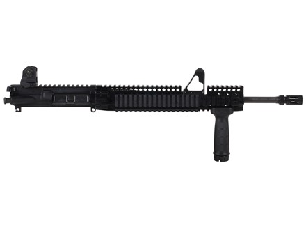 "Daniel Defense AR-15 DDM4v1 LW A3 Flat-Top Upper Assembly 5.56x45mm NATO 1 in 7"" Twist 16"" Light Barrel Chrome Lined CM with DDM4 12.0 FSP Quad Rail Free Float Handguard, Flash Hider"