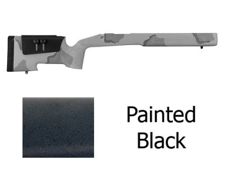 McMillan A-4 Rifle Stock with Saddle Cheekpiece Remington 700 BDL Short Action Varmint Barrel Channel Fiberglass Semi-Inletted
