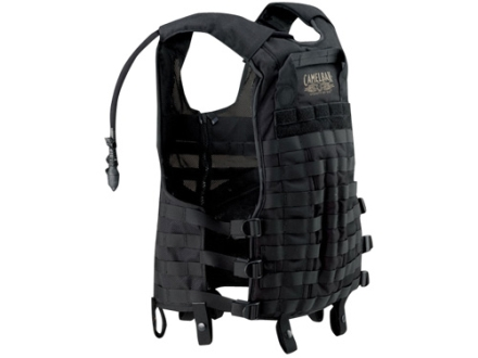 CamelBak Delta-5 Tactical Vest with 102 oz Hydration System MOLLE Compatible Nylon Black