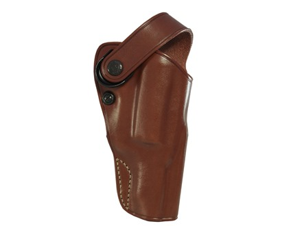 "Galco D.A.O. Dual Action Outdoorsman Belt Holster Right Hand Taurus Judge 3"" Cylinder 3"" Barrel Leather Tan"