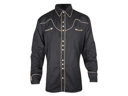 Scully Tom Horn Shirt Long Sleeve Cotton