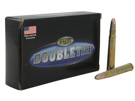 Doubletap Ammunition 375 H&H Magnum 350 Grain Woodleigh Weldcore Jacketed Soft Point Box of 20