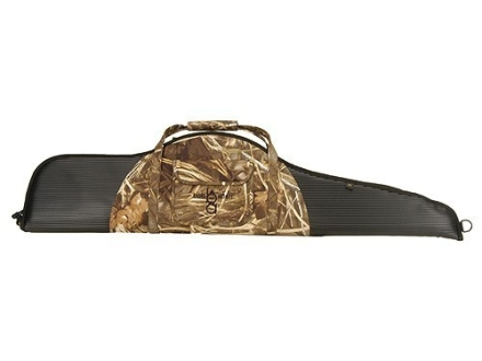 "Bob Allen Intercept Scoped Rifle Gun Case 48"" with Pocket Foam and Rubber Black and Realtree Max-4 Camo"