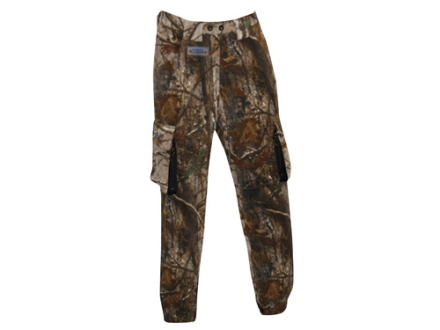 "ScentBlocker Men's Protec XT Fleece Pants Polyester Realtree AP Camo Medium 32-34 Waist 32"" Inseam"