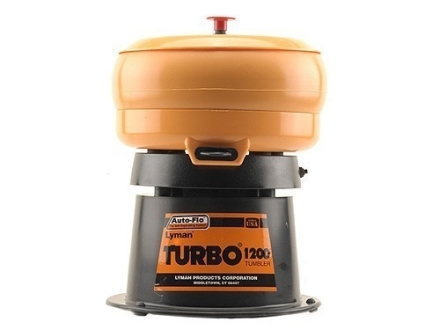 Lyman Turbo 1200 Case Tumbler with Auto-Flo 110 Volt