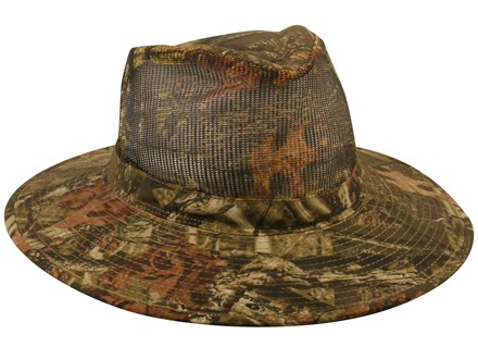 Outdoor Cap Mesh Outback Hat Polyester Mossy Oak Break-Up Infinity Camo