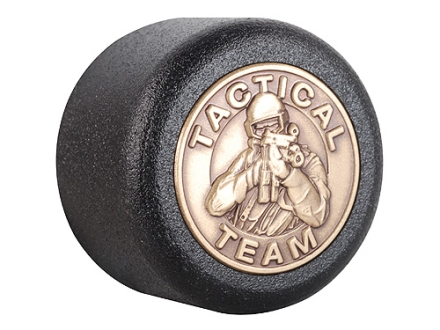 ASP Tactical Logo Baton Cap Certified Logo Cap 4140 Steel with Brass Emblem Black