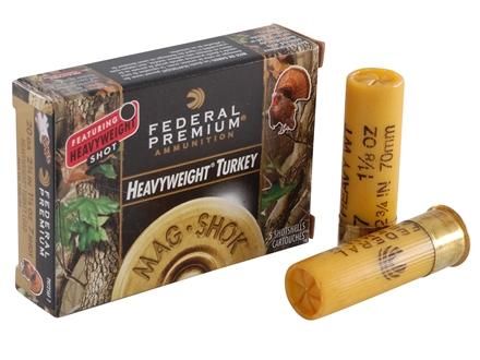 "Federal Premium Mag-Shok Turkey Ammunition 20 Gauge 2-3/4"" 1-1/8 oz #7 Heavyweight Shot Box of 5"
