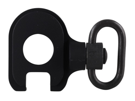 GG&G Quick Detach End Plate Sling Mount Adapter with Heavy Duty Quick Detach Swivel Remington 870, 1100, 11-87 12 Gauge Aluminum Matte