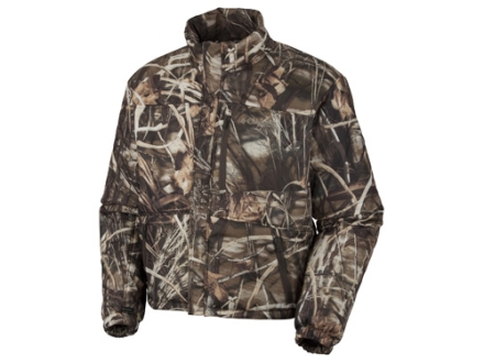 Columbia Sportswear Men's Omni Heat Liner Jacket Insulated Polyester Realtree Max-4 Camo Large 42-45
