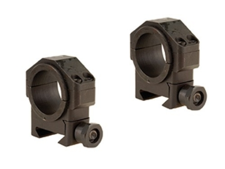 "Leatherwood Hi-Lux 30mm Max-Tac Tactical Picatinny-Style Rings with 1"" Inserts Medium Matte"