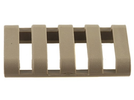 "Falcon Industries Low Profile Picatinny Rail Covers 1-3/4"" Tan"