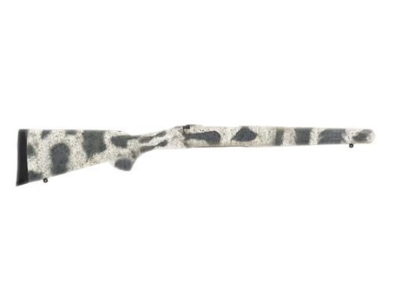 H-S Precision Pro-Series Rifle Stock Remington 700 ADL Short Action Varmint Barrel Channel Synthetic Winter Camo
