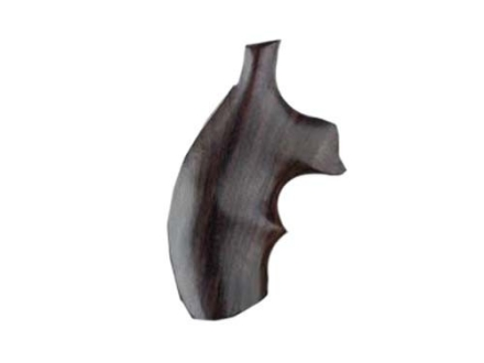 Hogue Fancy Hardwood Grips with Top Finger Groove S&W J-Frame Round Butt Rosewood