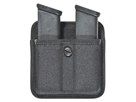 Bianchi 8020 Triple Threat 2 Magazine Pouch Single Stack Magazines Nylon Black
