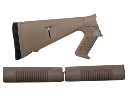 Mesa Tactical Urbino Tactical Stock with Limbsaver Recoil Pad and Forend Benelli M4 12 Gauge Synthetic Coyote Tan