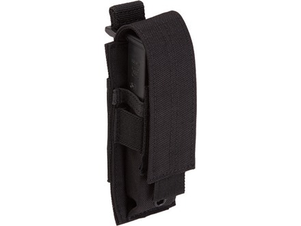 5.11 Single Pistol Magazine Pouch Nylon Flat Dark Black