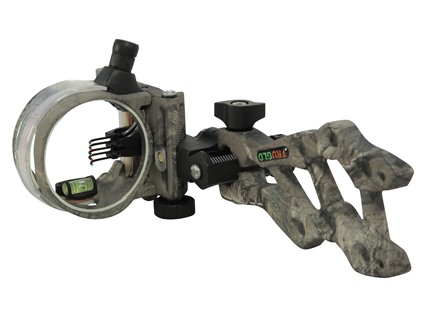 "TRUGLO Rival FX 5 Light 5-Pin Archery Sight .019"" Diameter Pins Aluminum Realtree Xtra Camo"