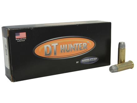 Doubletap Ammunition 44 Remington Magnum 320 Grain Wide Flat Nose Gas Check Point