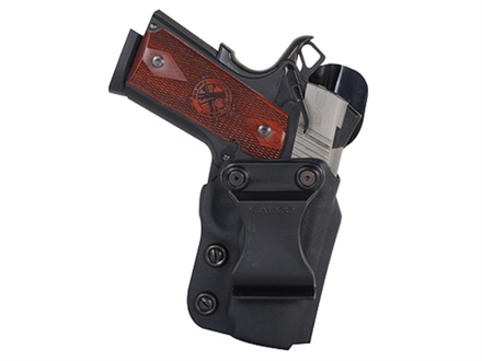 Galco Triton Inside the Waistband Holster Right Hand S&W M&P Compact 9mm Luger, 40 S&W Kydex Black