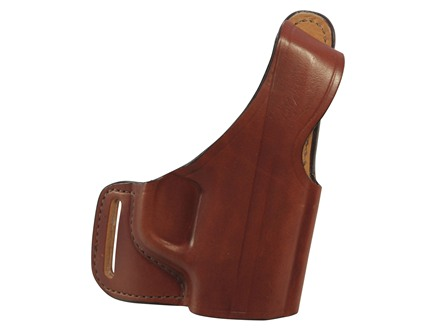 Bianchi 75 Venom Outside the Waistband Holster Right Hand Smith & Wesson M&P Shield Leather Tan