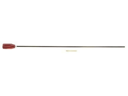 "Dewey 1-Piece Cleaning Rod 22 to 26 Caliber 24"" Stainless Steel 8 x 32 Female Thread"