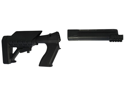 Archangel 500 Tactical Shotgun Stock System Mossberg 500/590 - Black Polymer