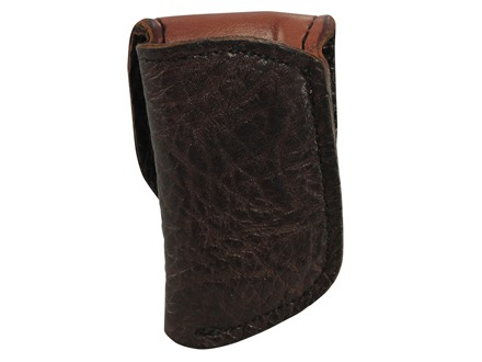 El Paso Saddlery Exotic 1F Single Magazine Pouch Single Stack 45 ACP Magazine Spanish Bull