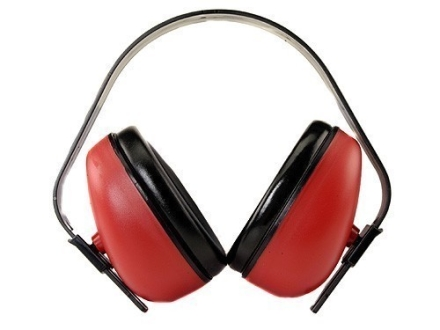 Radians Defender Earmuffs (NRR 23 dB) Red