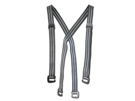 Sitka Gear Suspenders Elastic Gray