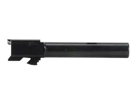 "Glock Barrel Glock 17C 9mm Luger 1 in 9.84"" Twist 4.49"" Carbon Steel Matte with Compensator"