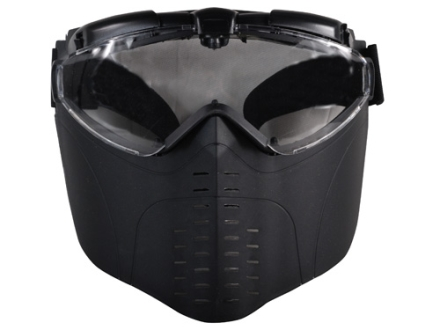 Crosman Airsoft Mask Polymer Black