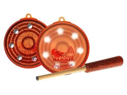 Knight & Hale Glass Hammer Glass Turkey Call