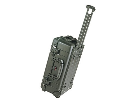 "Pelican 1510 Carry On Case with Pre-Scored Foam Insert and Wheels 22"" x 13-3/4"" x 9"" Polymer Olive Drab"