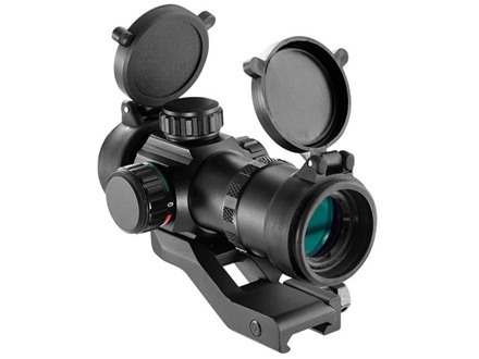 Barska Tactical Red Dot Sight 1x 30mm 3 MOA Dot with Picatinny-Style Mount Matte