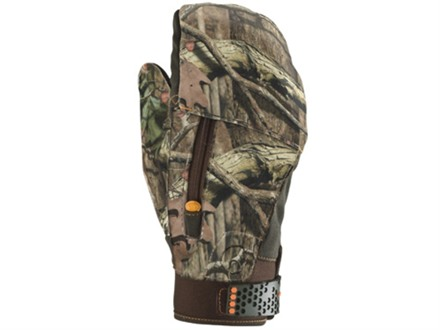 Under Armour Derecho Mitten Glove Polyester Mossy Oak Break-Up Infinity Camo XL