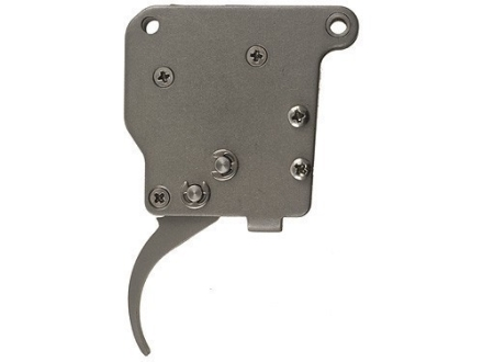 Jewell Rifle Trigger Remington 700, 7, 40X Bench Rest with no Provision for Safety 1-1/2 to 3 oz Stainless Steel