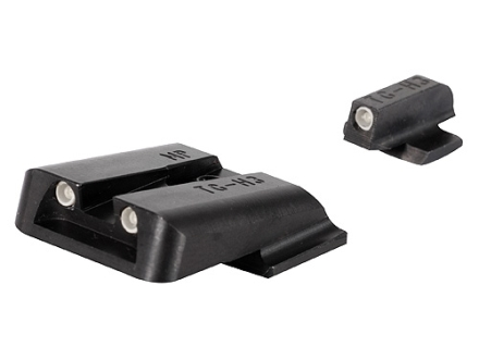 TRUGLO Brite-Site Tritium Sight Set S&W M&P, SD9, SD40 Steel Tritium Green