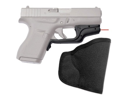 Crimson Trace Laserguard Glock 42 Front Activation Overmolded Rubber Black