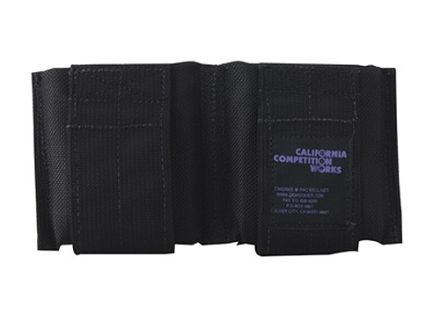 California Competition Works Double Magazine Pouch AR-15 20 Round Nylon Black