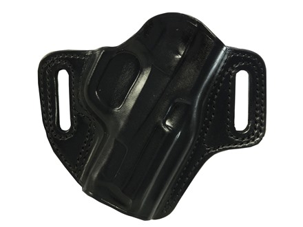 Galco Concealable Belt Holster Right Hand Smith & Wesson M&P Compact 9, 40 Leather Black