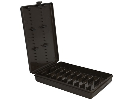 MTM Ammo Wallet Rifle Ammunition Carrier 9-Round 22-250 Remington to 375 H&H Magnum Brown