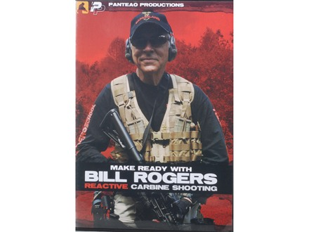 "Panteao ""Make Ready with Bill Rogers: Reactive Carbine Shooting"" DVD"